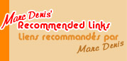 Marc Denis' Recommended Links / Liens recommandés par Marc Denis